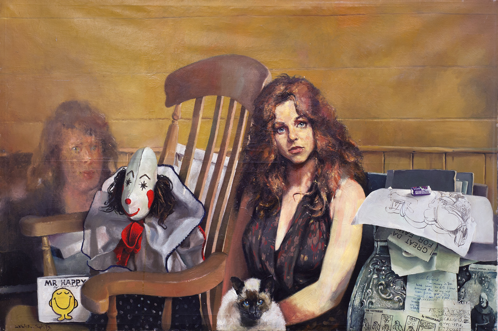 Belle In The Kitchen Robert Lenkiewicz Paintings And