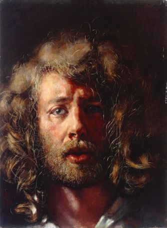 self-portrait after durer. 1978
