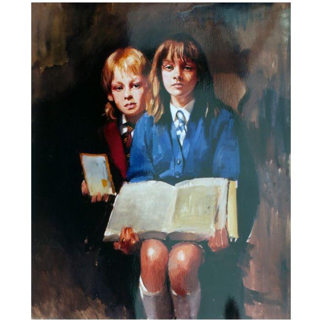 Painting of LEE & KELLY ARKINS
