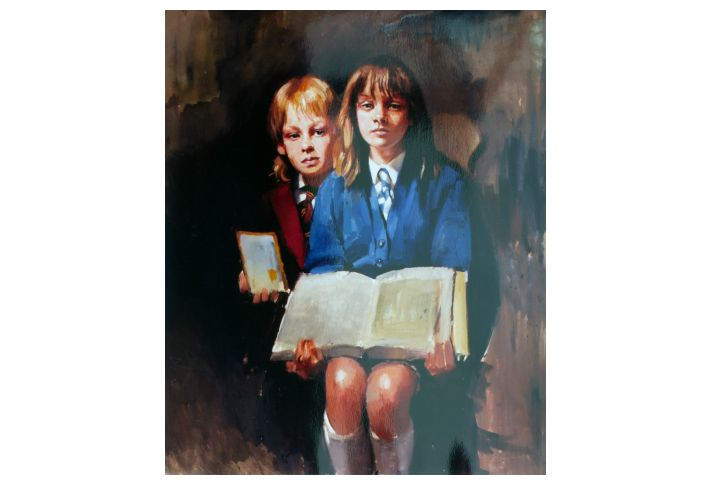 Painting of LEE & KELLY ARKINS