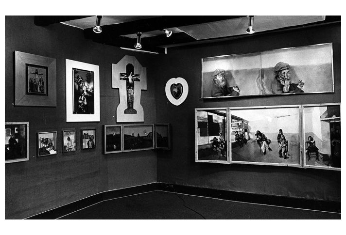 'Love & Romance' at the Reynold's Gallery, 1975.