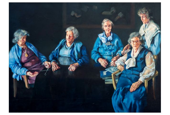 Old Women of the Almshouse