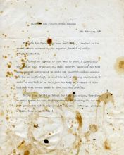 Correspondence with Age Concer - the 1981 press release on the occasion of Robert's death hoax