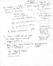 Research notes for old age theme