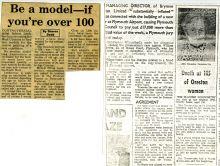 Lenkiewicz press clipping seeking elderly models
